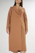 Оптом Пальто демисезонное коричневого цвета 42105K в Екатеринбурге, фото 9