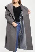 Оптом Пальто демисезонное серого цвета 42107Sr в Екатеринбурге, фото 11