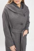 Оптом Пальто демисезонное серого цвета 42107Sr в Екатеринбурге, фото 10