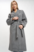 Оптом Пальто демисезонное серого цвета 42121Sr в Екатеринбурге, фото 10