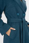 Оптом Пальто демисезонное темно-синего цвета 42121TS в Екатеринбурге, фото 7
