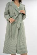 Оптом Пальто демисезонное зеленого цвета 42122Z в Екатеринбурге, фото 10