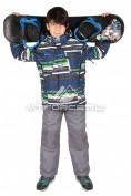 Интернет магазин MTFORCE.ru предлагает купить оптом костюм горнолыжный  для мальчика синего цвета 422S по выгодной и доступной цене с доставкой по всей России и СНГ