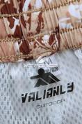 Оптом Спортивные шорты бежевого цвета 4272B в Екатеринбурге, фото 8