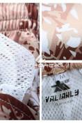 Оптом Спортивные шорты бежевого цвета 4272B в Екатеринбурге, фото 3