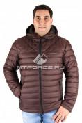 Интернет магазин MTFORCE.ru предлагает купить оптом куртка мужская коричневого цвета 1618К по выгодной и доступной цене с доставкой по всей России и СНГ