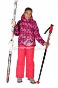 Интернет магазин MTFORCE.ru предлагает купить оптом костюм горнолыжный  для девочки розового цвета 6101R по выгодной и доступной цене с доставкой по всей России и СНГ