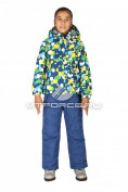 Интернет магазин MTFORCE.ru предлагает купить оптом костюм горнолыжный  для девочки синего цвета 6109S по выгодной и доступной цене с доставкой по всей России и СНГ