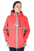 Интернет магазин MTFORCE.ru предлагает купить оптом куртка спортивная женская батал персикового цвета 626P по выгодной и доступной цене с доставкой по всей России и СНГ