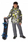 Интернет магазин MTFORCE.ru предлагает купить оптом костюм горнолыжный  для мальчика цвета хаки 708Kh по выгодной и доступной цене с доставкой по всей России и СНГ
