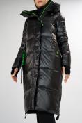 Оптом Куртка зимняя черного цвета 72101Ch в Екатеринбурге, фото 10