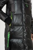 Оптом Куртка зимняя черного цвета 72101Ch в Екатеринбурге, фото 11