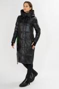 Оптом Куртка зимняя черного цвета 72101Ch в Екатеринбурге, фото 2