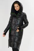Оптом Куртка зимняя черного цвета 72101Ch в Екатеринбурге, фото 6