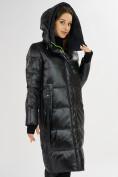 Оптом Куртка зимняя черного цвета 72101Ch в Екатеринбурге, фото 7