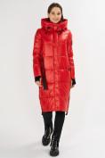 Оптом Куртка зимняя красного цвета 72101Kr в Екатеринбурге