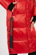 Оптом Куртка зимняя красного цвета 72101Kr в Екатеринбурге, фото 10