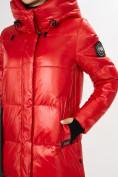Оптом Куртка зимняя красного цвета 72101Kr в Екатеринбурге, фото 11