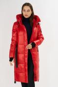 Оптом Куртка зимняя красного цвета 72101Kr в Екатеринбурге, фото 12