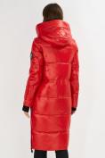 Оптом Куртка зимняя красного цвета 72101Kr в Екатеринбурге, фото 3