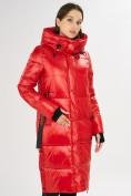 Оптом Куртка зимняя красного цвета 72101Kr в Екатеринбурге, фото 4