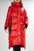 Оптом Куртка зимняя красного цвета 72101Kr в Екатеринбурге, фото 8