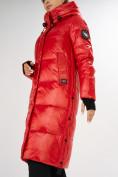 Оптом Куртка зимняя красного цвета 72101Kr в Екатеринбурге, фото 9