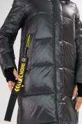 Оптом Куртка зимняя темно-серого цвета 72101TC в Екатеринбурге, фото 11