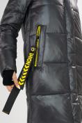Оптом Куртка зимняя темно-серого цвета 72101TC в Екатеринбурге, фото 13