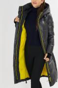 Оптом Куртка зимняя темно-серого цвета 72101TC в Екатеринбурге, фото 14