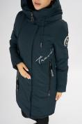 Оптом Куртка зимняя темно-зеленого цвета 72115TZ в Екатеринбурге, фото 15