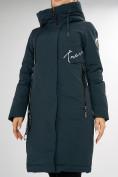 Оптом Куртка зимняя темно-зеленого цвета 72115TZ в Екатеринбурге, фото 17