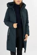 Оптом Куртка зимняя темно-зеленого цвета 72115TZ в Екатеринбурге, фото 18