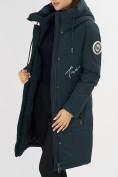 Оптом Куртка зимняя темно-зеленого цвета 72115TZ в Екатеринбурге, фото 19