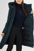 Оптом Куртка зимняя темно-зеленого цвета 72115TZ в Екатеринбурге, фото 20