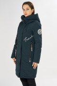 Оптом Куртка зимняя темно-зеленого цвета 72115TZ в Екатеринбурге, фото 8