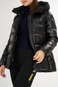 Оптом Куртка зимняя big size черного цвета 72117Ch в Екатеринбурге, фото 12