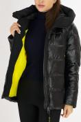 Оптом Куртка зимняя big size черного цвета 72117Ch в Екатеринбурге, фото 15