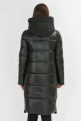 Оптом Куртка зимняя темно-зеленого цвета 72168TZ в Екатеринбурге, фото 3