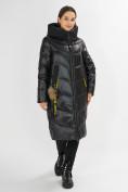 Оптом Куртка зимняя черного цвета 72169Ch в Екатеринбурге