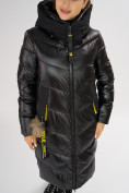 Оптом Куртка зимняя черного цвета 72169Ch в Екатеринбурге, фото 10