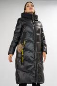 Оптом Куртка зимняя черного цвета 72169Ch в Екатеринбурге, фото 12