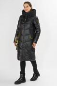Оптом Куртка зимняя черного цвета 72169Ch в Екатеринбурге, фото 2