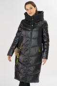 Оптом Куртка зимняя черного цвета 72169Ch в Екатеринбурге, фото 5