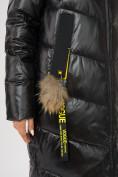 Оптом Куртка зимняя черного цвета 72169Ch в Екатеринбурге, фото 7