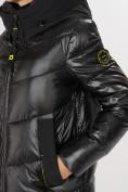 Оптом Куртка зимняя черного цвета 72169Ch в Екатеринбурге, фото 8
