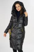 Оптом Куртка зимняя черного цвета 72169Ch в Екатеринбурге, фото 9