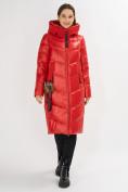 Оптом Куртка зимняя красного цвета 72169Kr в Екатеринбурге