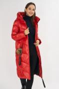Оптом Куртка зимняя красного цвета 72169Kr в Екатеринбурге, фото 11