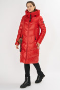 Оптом Куртка зимняя красного цвета 72169Kr в Екатеринбурге, фото 2